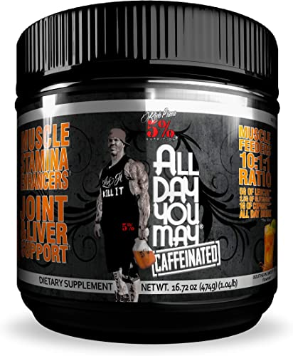 Rich Piana 5 Nutrition All Day You May Caffeinated