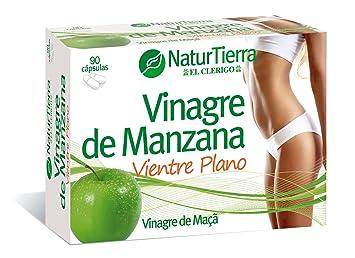 Naturtierra Vinagre de Manzana, Vientre Plano - 90 Cápsulas: Amazon.es: Salud y cuidado personal