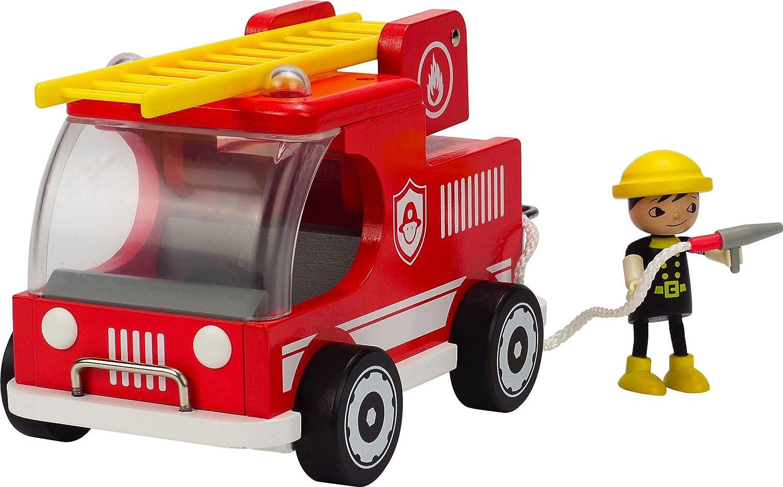 Hape Feuerwehrauto - feuerwache spielzeug - feuerwehrstation spielzeug