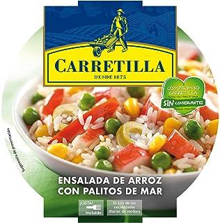 Carretilla - Ensalada de arroz con palitos de mar - 240 g - [Pack de