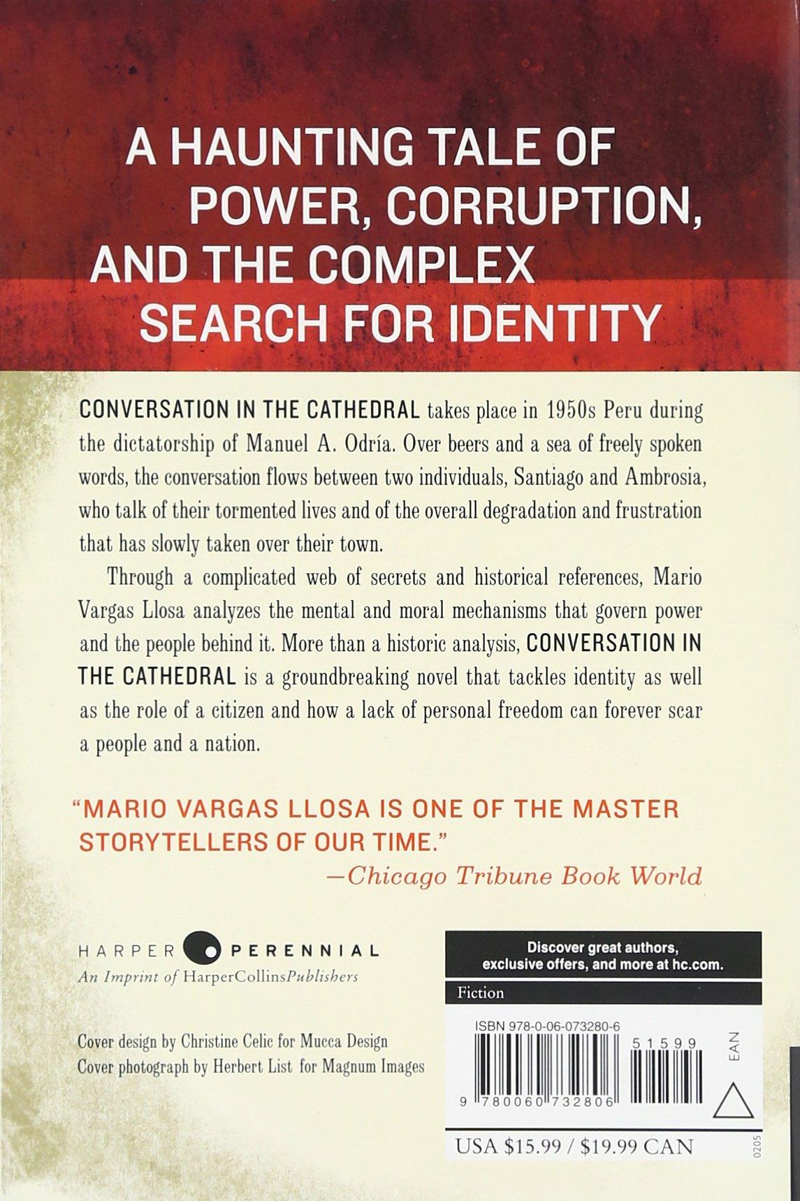 Amazon: Conversation In The Cathedral (9780060732806): Mario Vargas  Llosa, Gregory Rabassa: Books