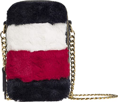 1762423f TOMMY HILFIGER TH Idol Mini Crossover Fur Corporate: Amazon.co.uk: Shoes &  Bags