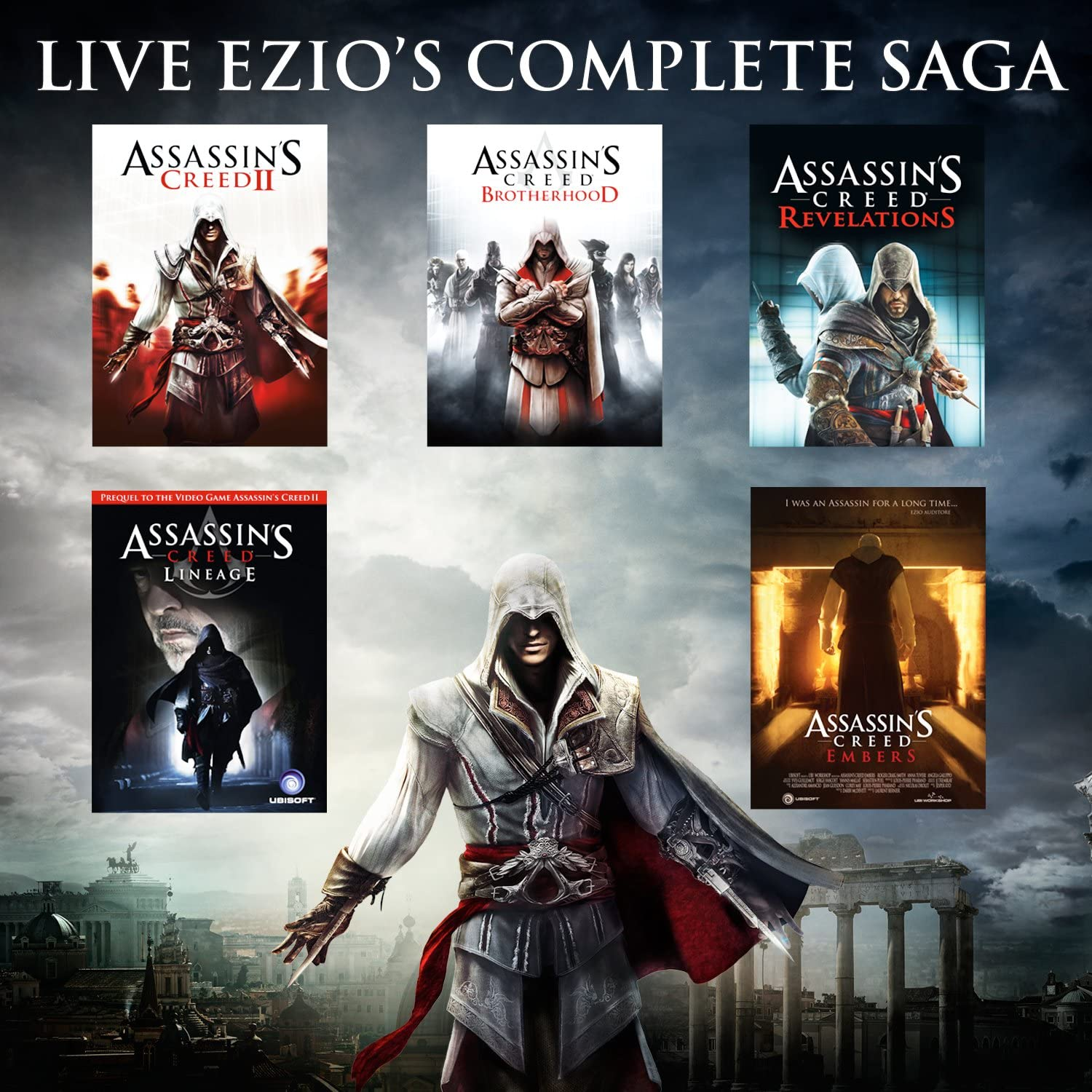 Amazon Com Assassins Creed The Ezio Collection Playstation  Ubisoft Video Games