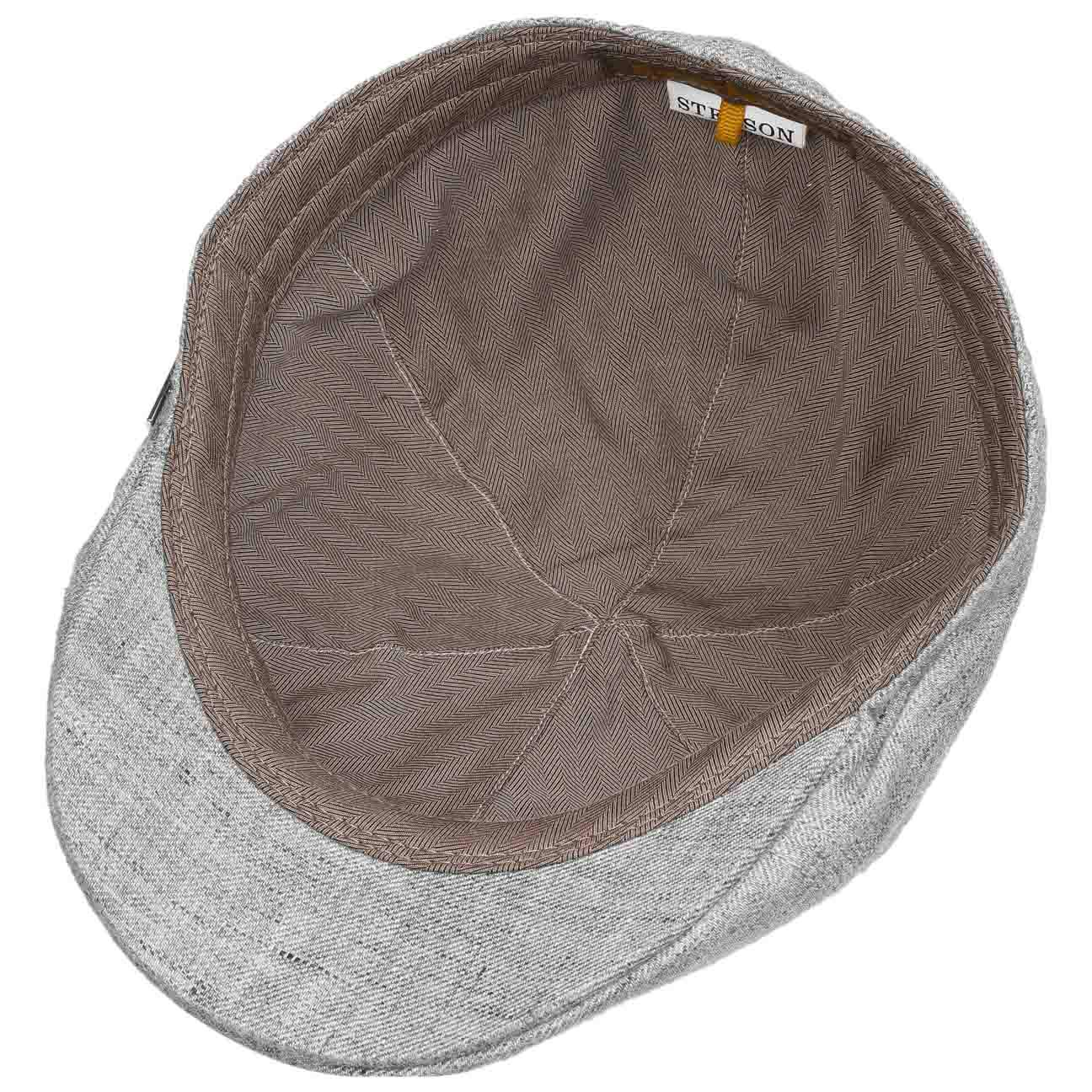 Stetson Texas Classic Linen Flat Cap Men