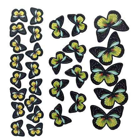 Edible Pre-Cut Butterflies--Yellow Tail