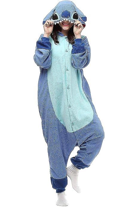2019 Stitch/'s fashion hot unisex adult kid pajamas cosplay animal costume