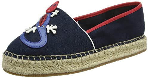 Tommy Hilfiger Patch Espadrille Corporate, Alpargata para Mujer: Amazon.es: Zapatos y complementos