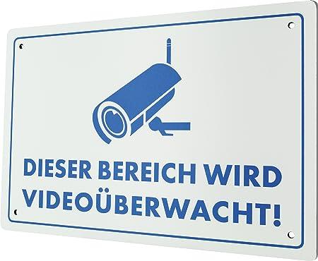Schwaiger Hschild Warnschild Furs Haus Amazon De Elektronik