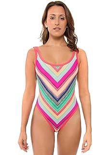 5e345b712 Amazon.com: Body Glove Women's Rocky One Piece Swimsuit with Strappy ...