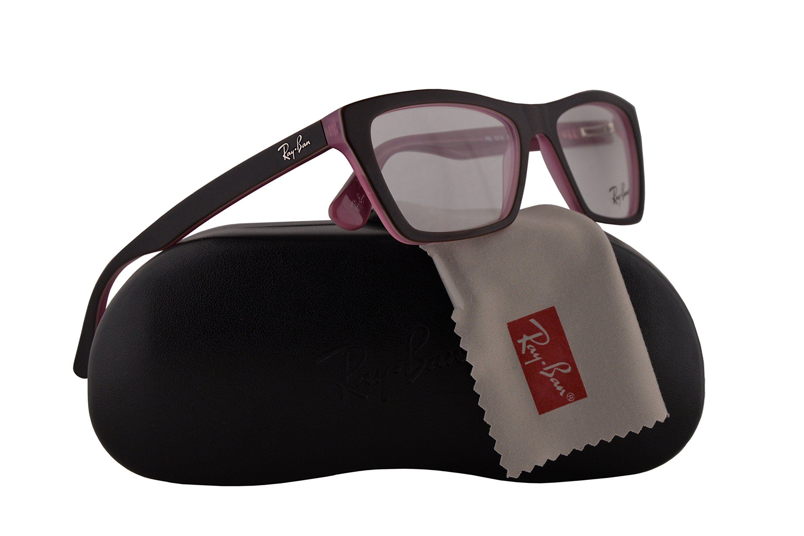 Ray Ban RX5316 Eyeglasses 51-16-140 Top Matte Brown On Opal Pink 5386 RB5316