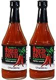 Trappey's Red Devil Sauce Hot 12 fl oz ( 2 pack )