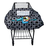 Amazon Price History for:Boppy Shopping Cart and High Chair Cover, City Squares Black and White
