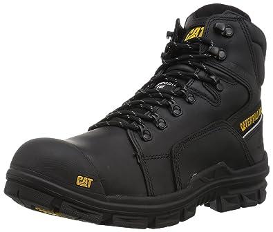 Caterpillar Mens Struts Waterproof Nano Toe Industrial and Construction Shoe, Black, ...