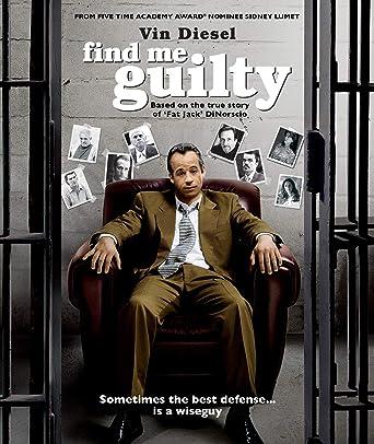 Find Me Guilty Edizione: Stati Uniti Italia Blu-ray: Amazon ...