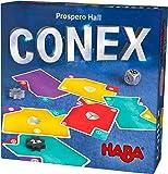 HABA 303497 - CONEX blaveres lege和纸牌游戏,带许多角和边缘。 适合 2-4 人玩游戏,8 岁以上