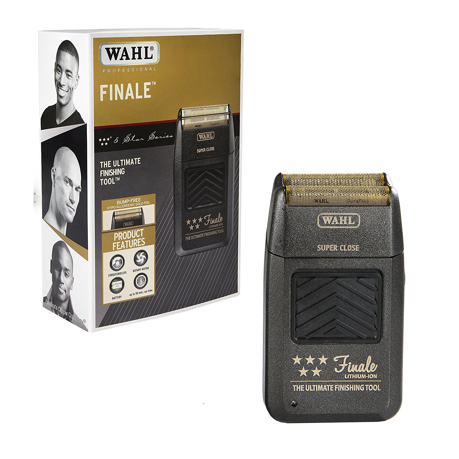【予約受付中】 Wahl Professional 5 Great Star Professional Size Series Finale Finishing Tool #8164 - Great for Professional Stylists and Barbers - Super Close - Black (並行輸入品) One Size One Color B07HLTF94P, 御調郡:a4014a58 --- arianechie.dominiotemporario.com