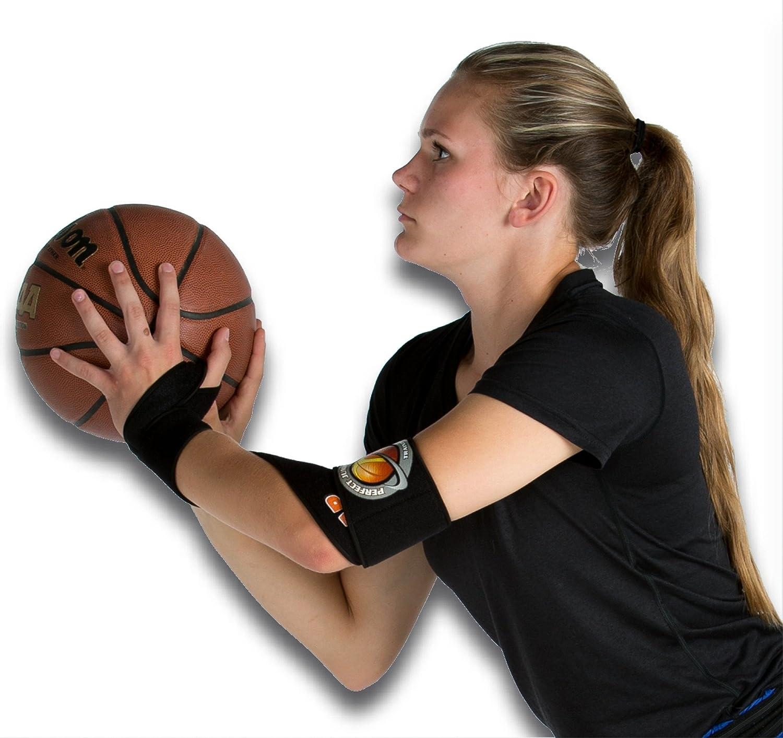 HoopsKing Wrap Correa Baloncesto Shooting Ayuda Stop Thumbing el Baloncesto