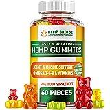 Hempbridge Hemp Gummies - Safe and Natural - Non-GMO - Different tastes - Maximum Value in Each Gummy - Special Vitamins B &