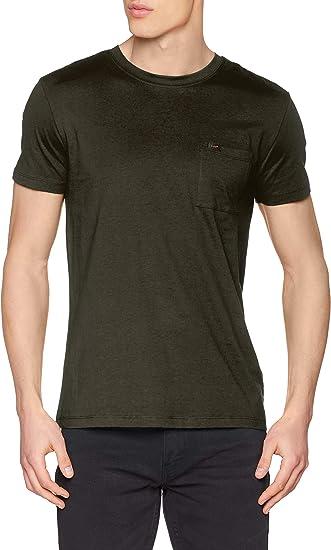 TALLA L. Lee Ultimate Pocket tee Camiseta para Hombre