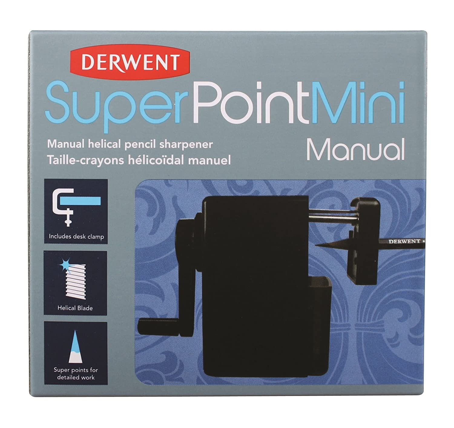 Derwent Super Point Mini Temperamatite Manuale da Tavolo