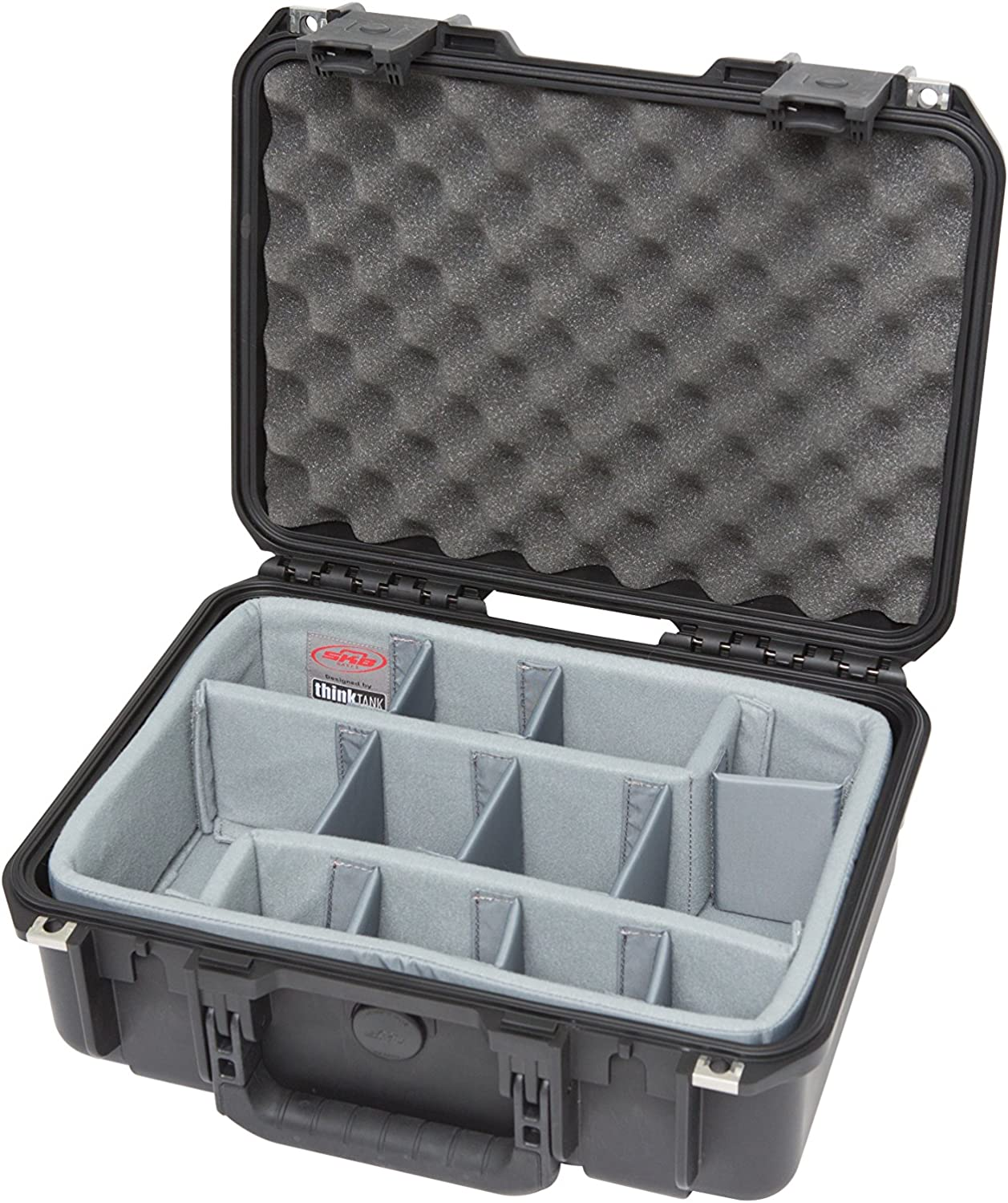 SKB Cases iSeries 1510-6 Case with Think Tank Designed Photo Dividers Black 3i-1510-6DT