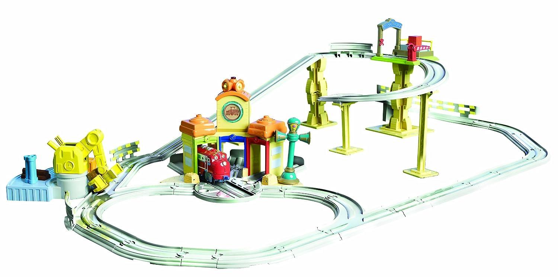 Amazon.com: Chuggington Interactive All Around Train Set: Toys & Games