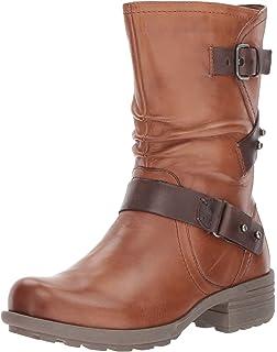 Rockport Cobb Hill Brunswick Mid Calf Boot(Women's) -Almond Leather