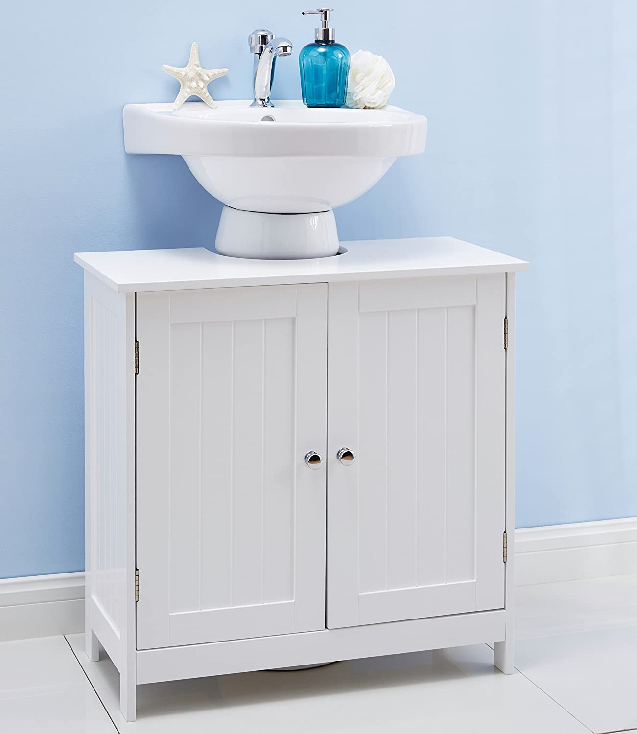 under sink bathroom cabinet white ebay