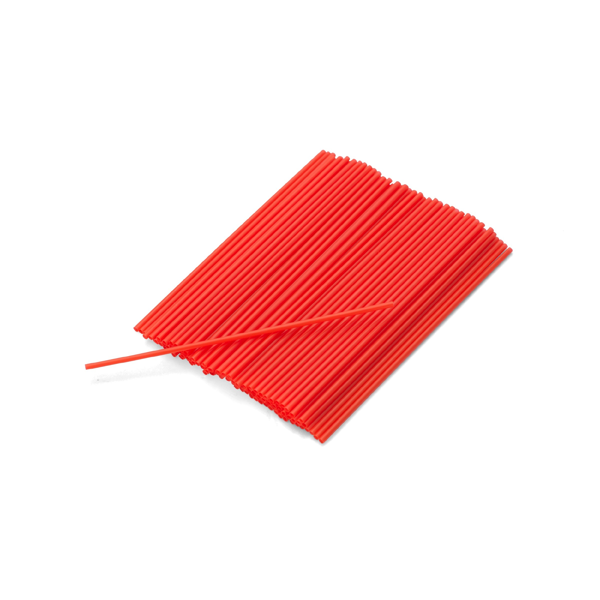 Kizmos Coffee Stirrers (Red, 100 Count)
