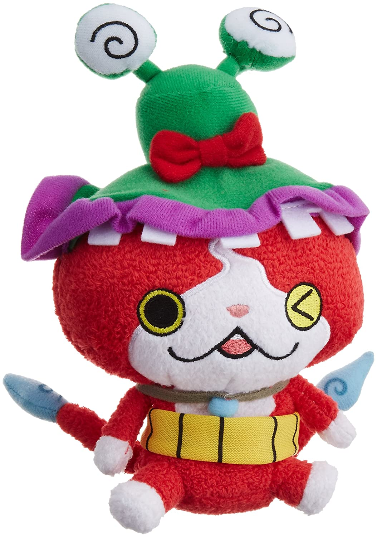 yokai-watch kuttari relleno de Nyan Jibanyan ~ wasuren sombrero