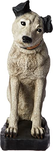 Design Toscano Nipper RCA Dog Statue