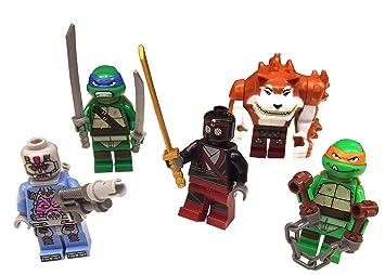 LEGO teenage ninja turtles - tous les minifigures de ...
