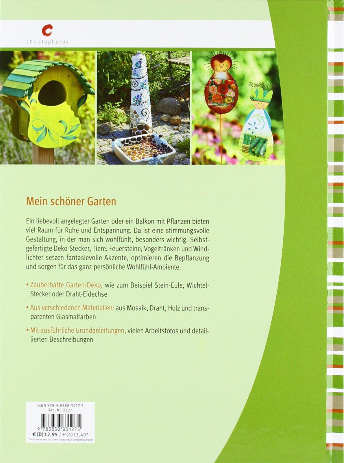 Garten-Deko aus Holz, Mosaik und Draht: 9783838831275: Amazon.com: Books