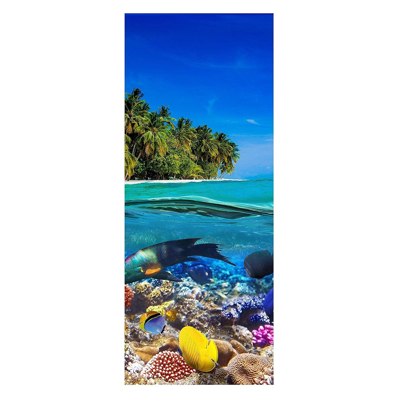 Wandmotiv24 Türtapete Insel In Der Karibik Tapete Tür Türaufkleber