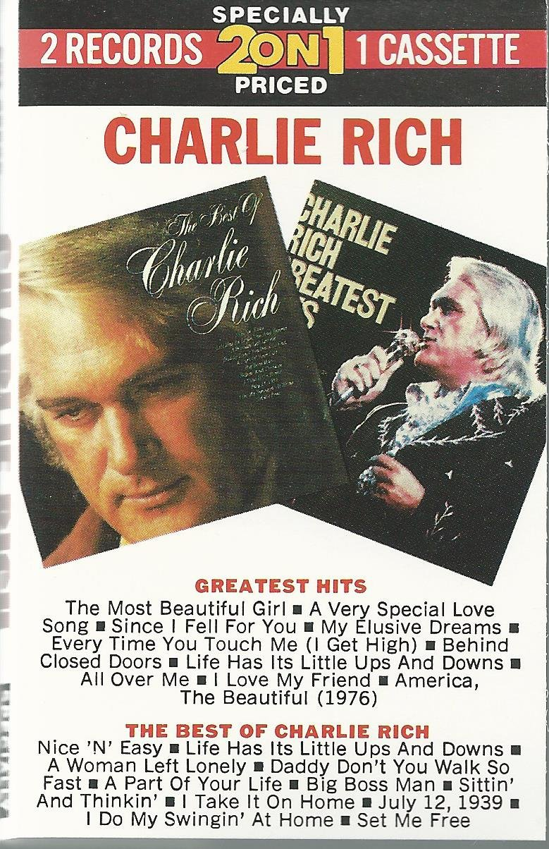 Charlie Rich - Greatest Hits /The Best of Charlie Rich - Amazon.com Music