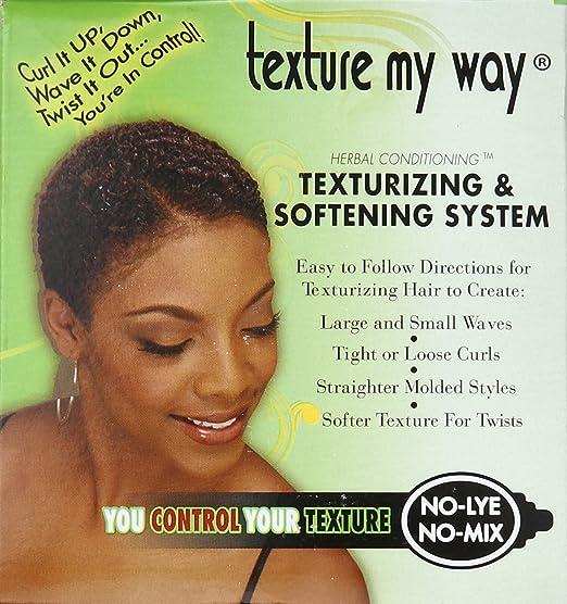 Amazon organics texture my way no lye organic conditioning amazon organics texture my way no lye organic conditioning texturizing system standard hair conditioners beauty urmus Choice Image