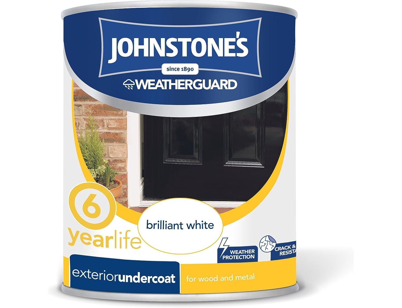 Johnstone's 303909 750ml Exterior Undercoat Paint - Dark Grey PPG Architectural Coatings UK & Ireland