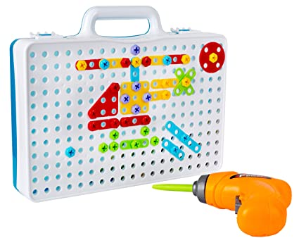 Amazoncom Drill Play Creative Educational Toy With Real Toy