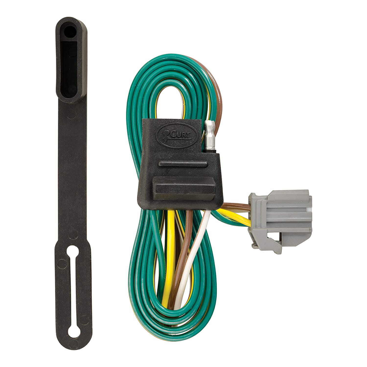 CURT 56210 Vehicle-Side Custom 4-Pin Trailer Wiring Harness for Select on
