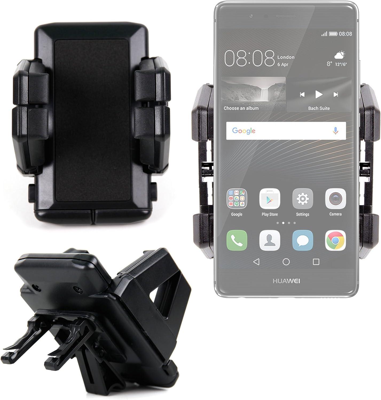 DURAGADGET Soporte De Coche para Smartphone Huawei P9 / P9 Plus / P9 Lite Rejilla De Ventilación!: Amazon.es: Electrónica