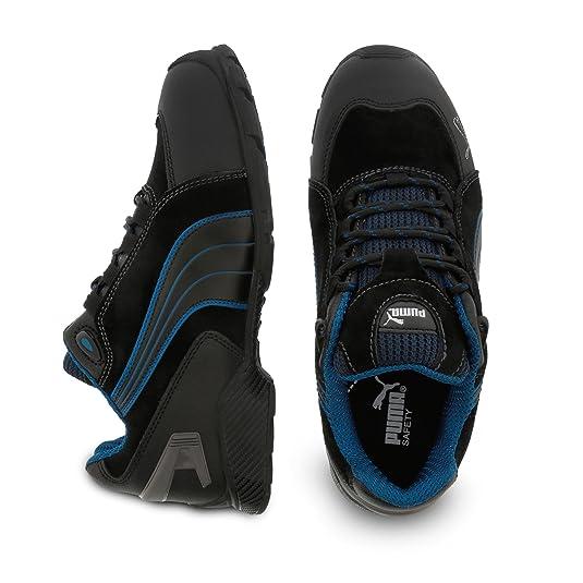 Src Puma De Noires Bleues Chaussures Securite S3 Rio RZqSg
