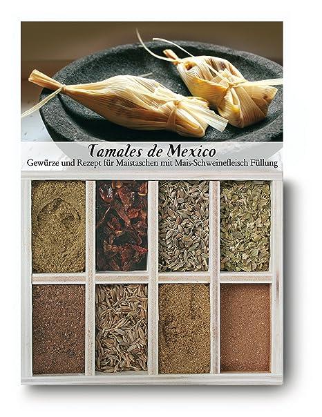 Feuer & Glas, Receta para Tamales de México Relleno de Carne de Cerdo y Maíz