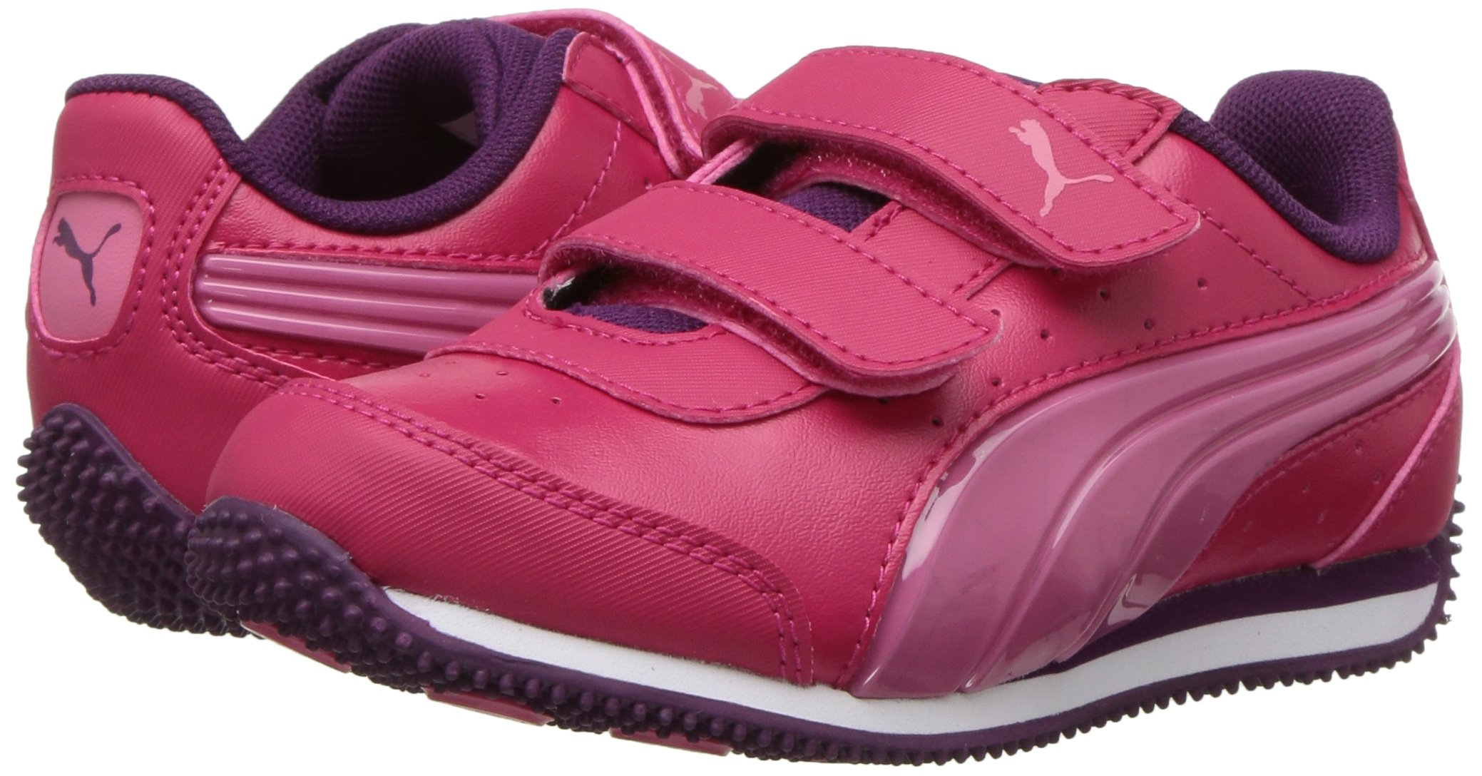 PUMA Baby Speed Lightup Power V Kids Sneaker, Love Potion-Rapture Rose, 5 M US Toddler by PUMA (Image #6)