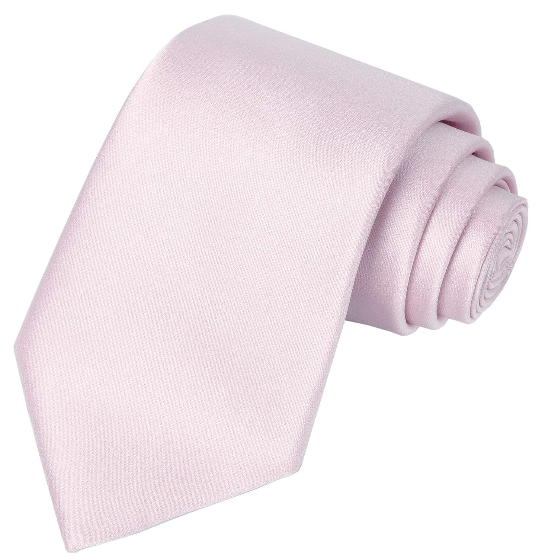 KissTies - Corbata de satén para hombre (incluye caja de regalo ...