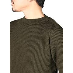 William Lockie Merino Wool Rib Crew Neck GME23008-6004716: Diamante