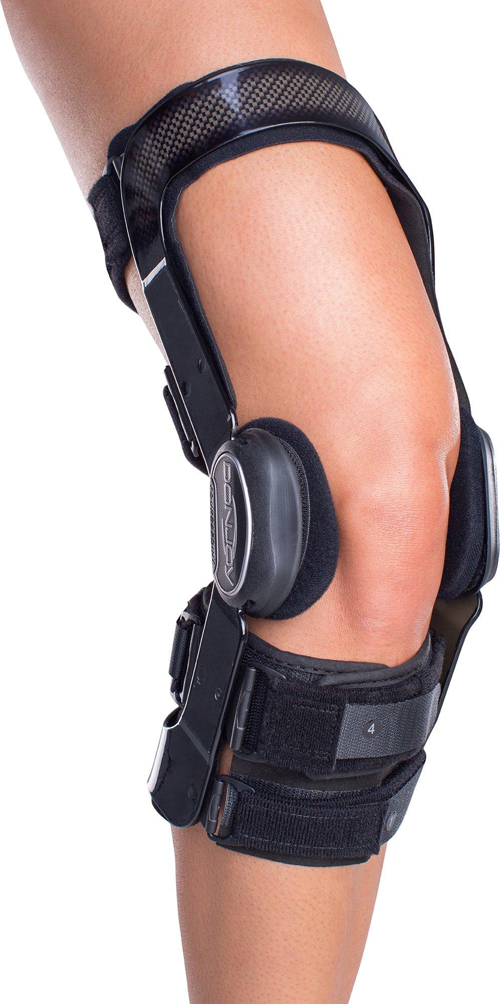 DonJoy FullForce Knee Support Brace: Short Calf Length, ACL (Anterior Cruciate Ligament), Left Leg, Medium