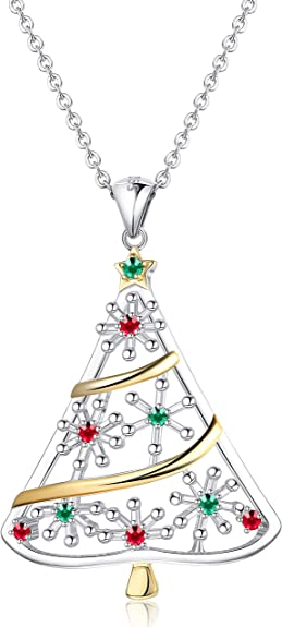 """17/"""" /& 23/"""" 925 Sterling Silver XMAS Christmas Snow Flake Necklace *Special Offer*"""