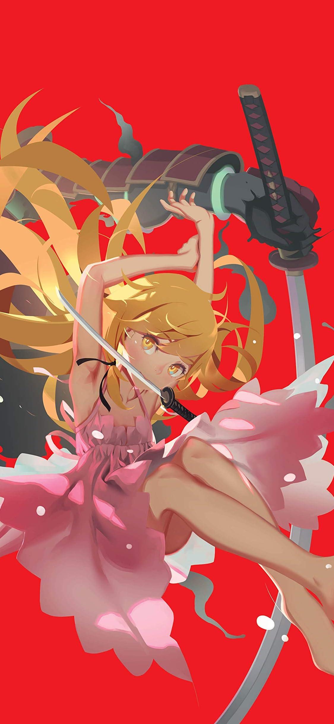化物語 Iphone X 壁紙 1125x2436 忍野忍 おしのしのぶ アニメ スマホ用画像
