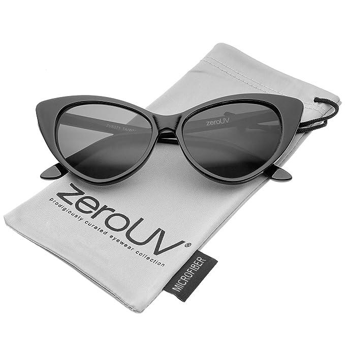 Amazon.com: ZeroUV - Gafas de sol para mujer, estilo retro ...