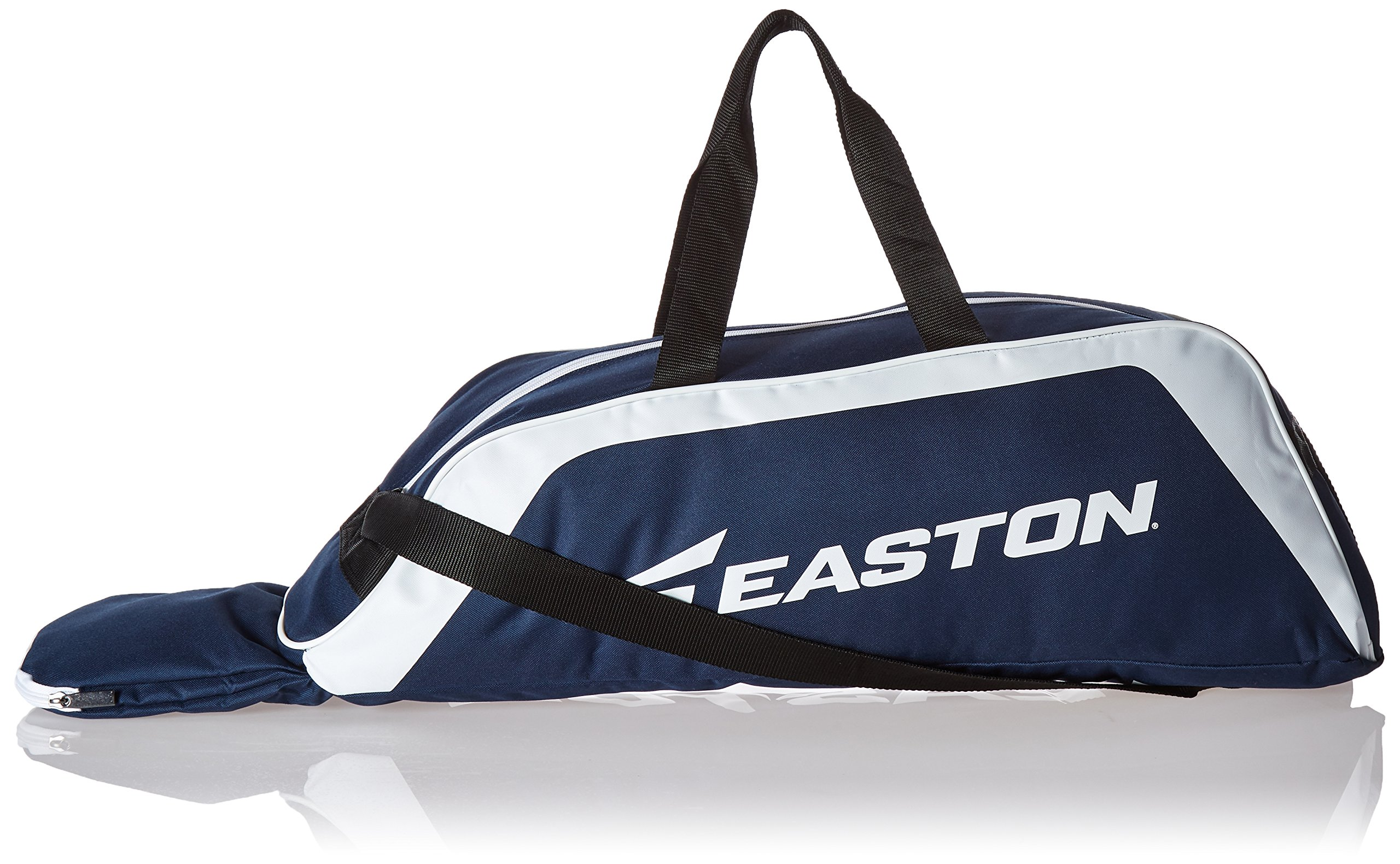 EASTON E100T Youth Bat & Equipment Tote Bag | Baseball Softball | 2019 | Navy | 2 Bat Compartment | Main Gear Compartment | Fence Hook | Shoulder & 2 Handle Straps by Easton